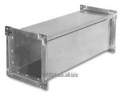 Воздуховод, труба прямоугольная оцинкованная сталь