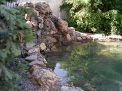 Проектирование и строительство водопадов, каскадов