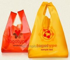 Пакети поліетиленові з нанесенням логотипу