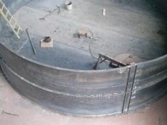 Изготовление крупногабаритных металлоконструкций