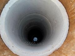 Колодцы питьевые из ж/б колец под ключ