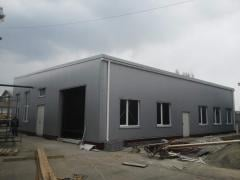 Designing of prefabricated buildings