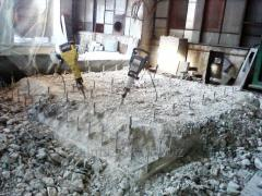 Демонтаж,разрушение стен,бетона,блоккомнат в Харькове.