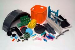 Services of the pressure casting of plastics
