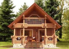 Строительство дома из дерева 27