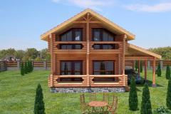 Bau der Ferienhäuser