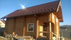 Строительство дома из дерева 003