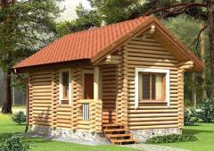 Строительство дома из дерева 1