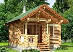 Строительство дома из дерева 2