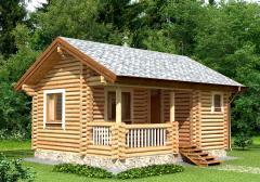 Строительство дома из дерева 3