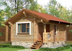 Строительство дома из дерева 4