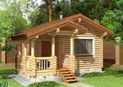 Строительство дома из дерева 5