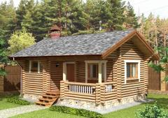 Строительство дома из дерева 7
