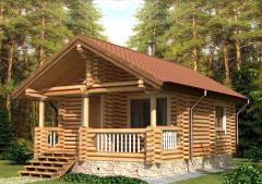 Строительство дома из дерева 9
