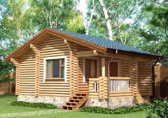 Строительство дома из дерева 14