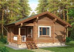 Строительство дома из дерева 18