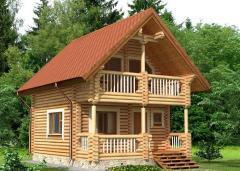 Строительство дома из дерева 25