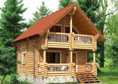 Строительство дома из дерева 32