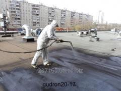 Строительство и ремонт Кровли производит Гудрон20-17
