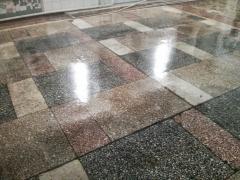 Обеспыливание  и Упрочнение бетонного основания (Акрилат)