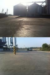 Ремонт, реставрация и обеспыливание дорожных подъездов к предприятиям (Полиуретан)