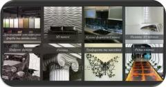 Декоративне оформлення стен и потолков