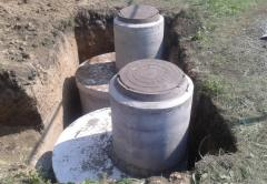 Монтаж септиков, канализаций, выгребных ям под ключ