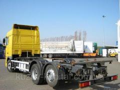 Переоборудование контейнера в кузов зерновоз