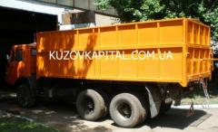 Наращивание бортов на грузовые кузова