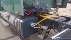 Установка гидрофикации тягачей