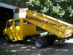 Изготовление кузовов на ГАЗель