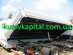 Переоборудование автомобиля в бортовой тип грузовика