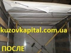Изготовление сдвижной крыши