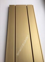 Anodizing under gold