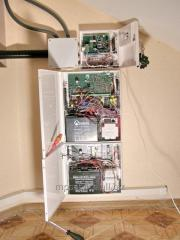 Installation and design of the security alarm
