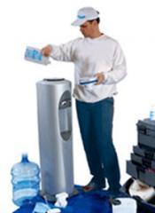 Сервисное обслуживание кулеров для воды