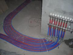 Installation of systems of electric heating
