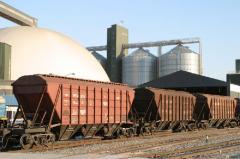 Zh.D.Perevozki of grain freights