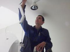 Installation of fire alarm