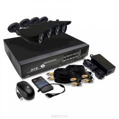 Design and installation of video surveillance