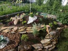 Дизайн и благоустройство двора