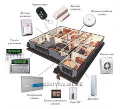 Service and operation of security systems