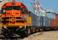 Rail transportation of perishable freights