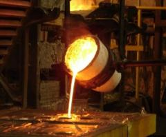Casting of cast iron under the order
