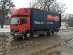 Cargo transportation to 5 tons