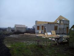 Construction of prefabricated buildings