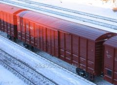 Ж/д перевозки грузов крытыми вагонами