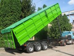 Услуги зерновозов: перевозка зерна в Украине