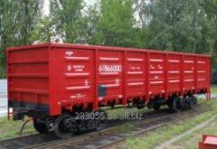 Железнодорожные перевозки грузов полувагонами