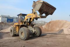 Lease of the wheel loader of 2-6 cbm
